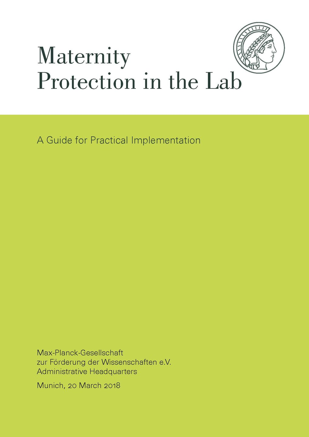 Maternity Protection in the Lab