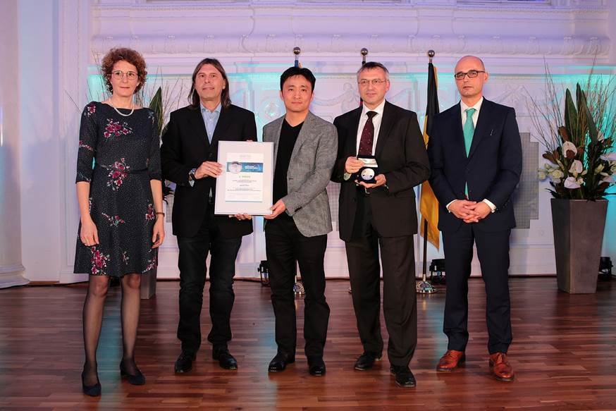 Nanopta GmbH receives second prize in the Lothar Späth Award 2018